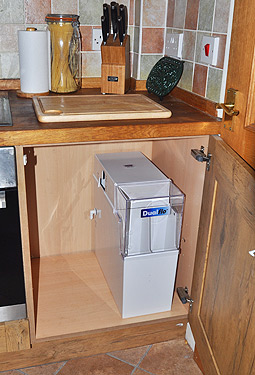 how do you manually regenerate a water softener